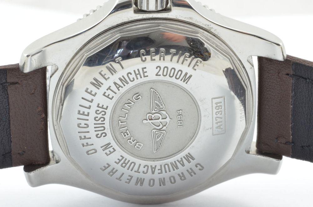 3b620d5e616 Breitling Superocean 2 44 A17391 Orologio Automatico da Uomo Ottimo ...
